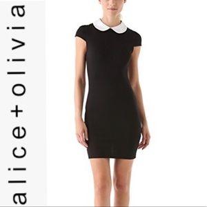 alice + olivia Bradley Collar Shirtdress NWT 12